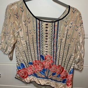 Worn once Anthropologie top